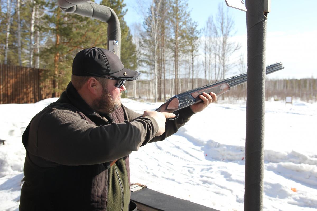 Тестовая стрельба из ружья WS в Екатеринбурге